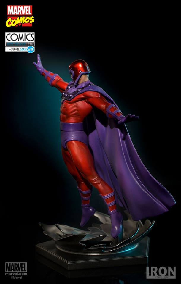 Iron Studios Magneto 1/10 Art Scale Statue  - Movie Freaks Collectibles