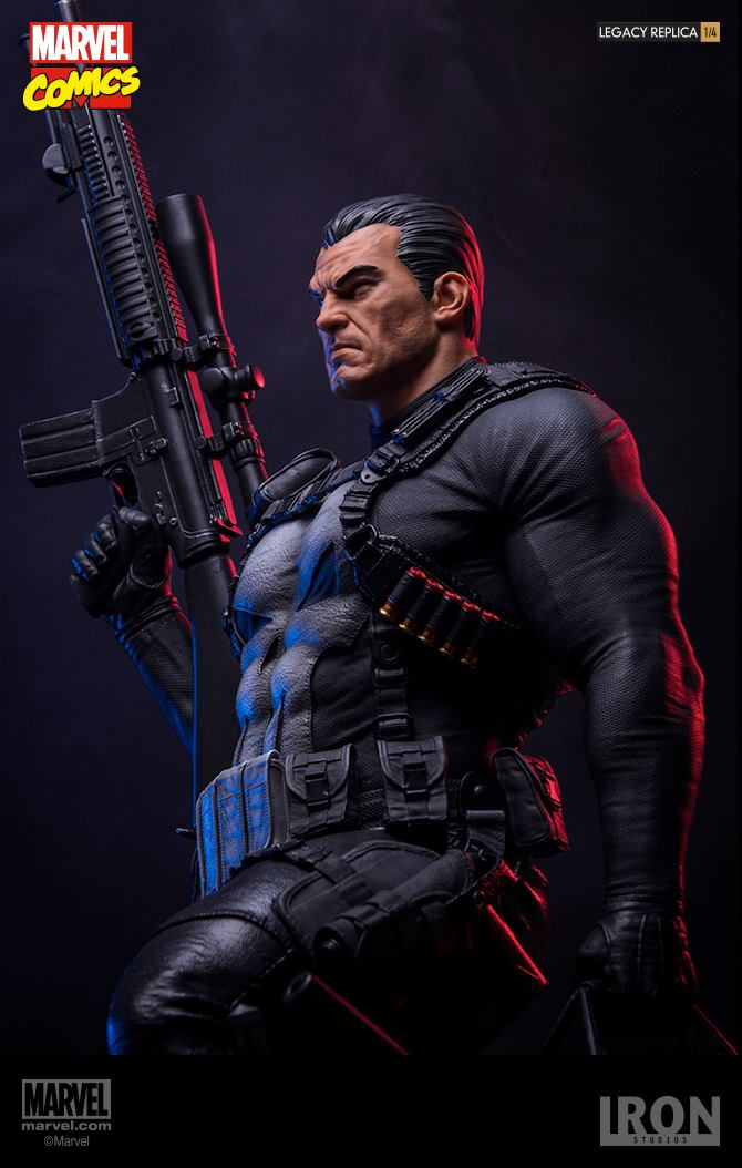Iron Studios The Punisher Legacy Replica 1/4 - Marvel Comics  - Movie Freaks Collectibles