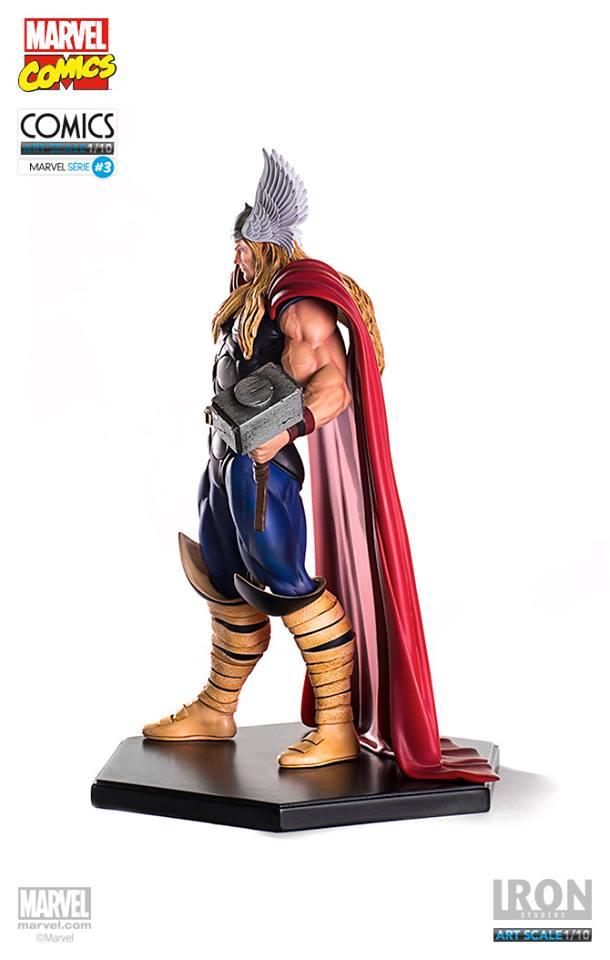 Iron Studios Thor 1/10 Art Scale Marvel Comics   - Movie Freaks Collectibles
