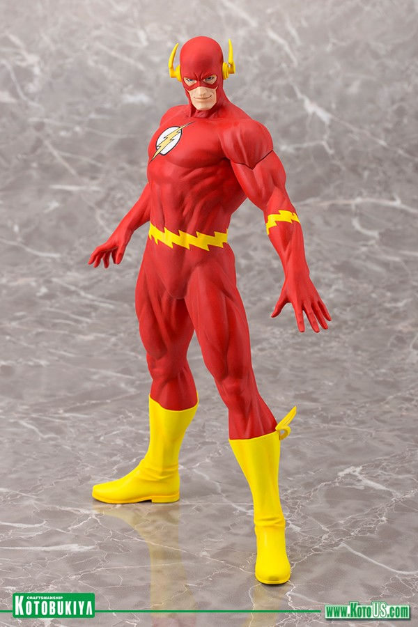 Kotobukiya Dc Comics Flash Artfx 1/6 Statue  - Movie Freaks Collectibles