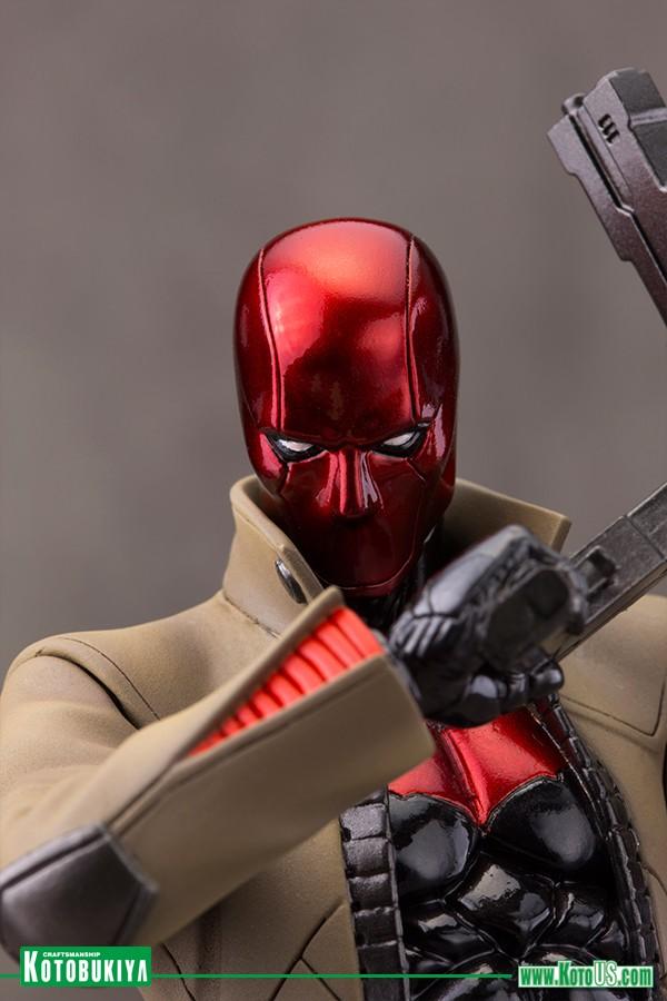 Kotobukiya Dc Comics New 52 Red Hood Capuz Vermelho Artfx+ Statue  - Movie Freaks Collectibles
