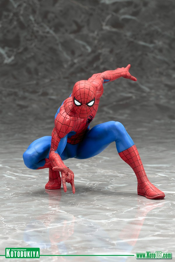 Kotobukiya THE AMAZING SPIDER-MAN ARTFX+ STATUE Homem Aranha  - Movie Freaks Collectibles