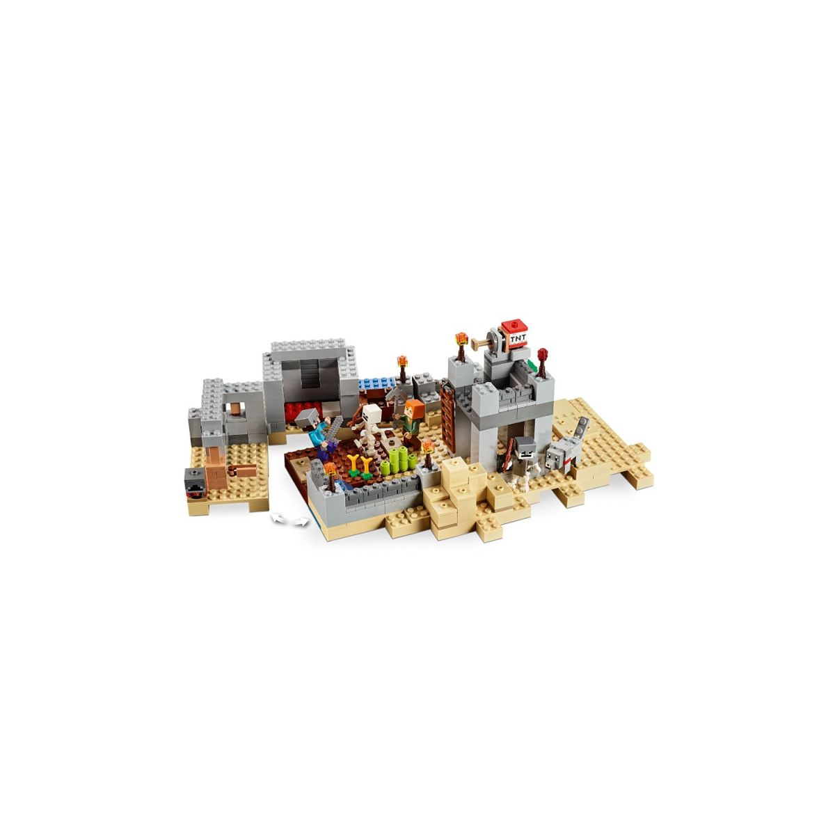 LEGO Minecraft 21121 the Desert Outpost Building Kit  - Movie Freaks Collectibles