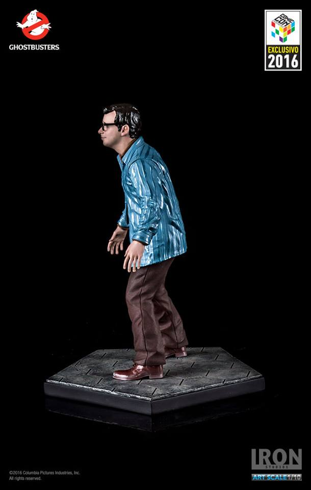 Iron Studios Louis Trully Art Scale 1/10 Ghostbusters Exclusive CCXP 2016  - Movie Freaks Collectibles