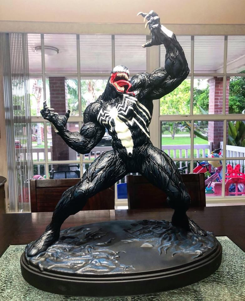 Marvel Vs Capcom Venom 1/4 scale Custom Statue  - Movie Freaks Collectibles