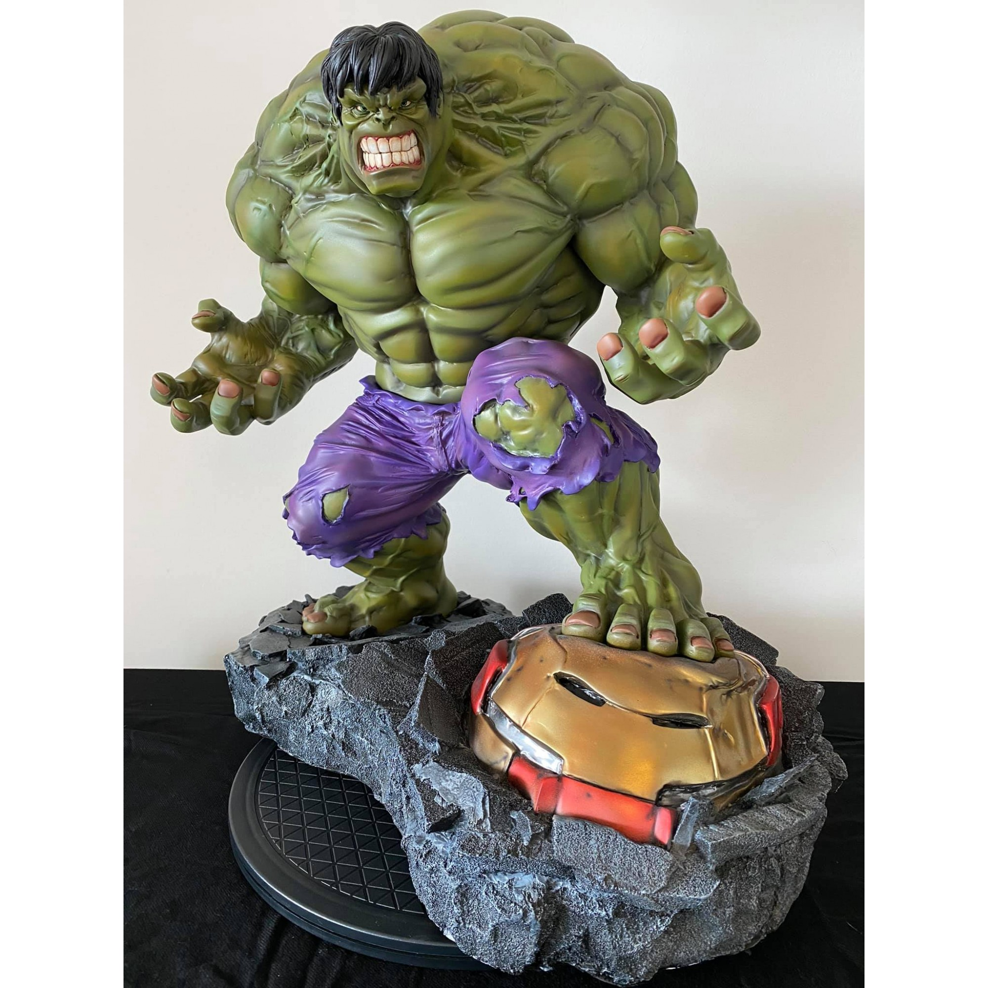 Mike Deodato Hulk 1/4 Custom Statue sculpted by Troy McDevitt e Painted by Aloir Marçal   - Movie Freaks Collectibles