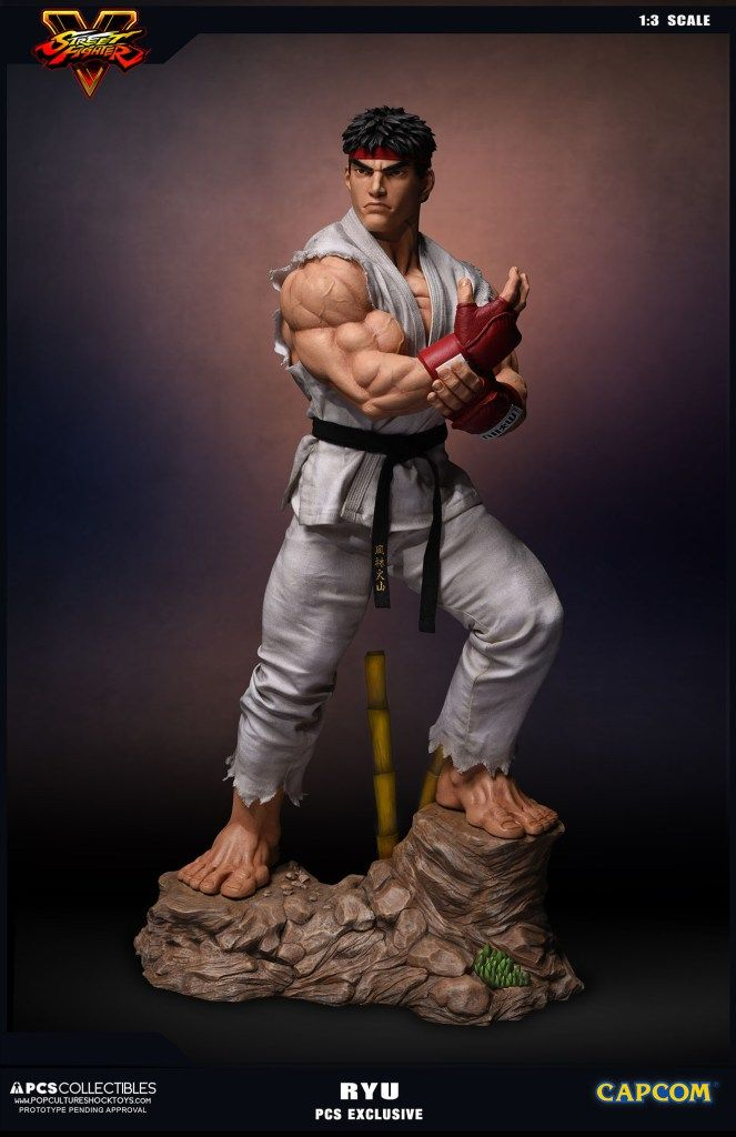 Pop Culture Shock Ryu 1:3 Statue  - Movie Freaks Collectibles
