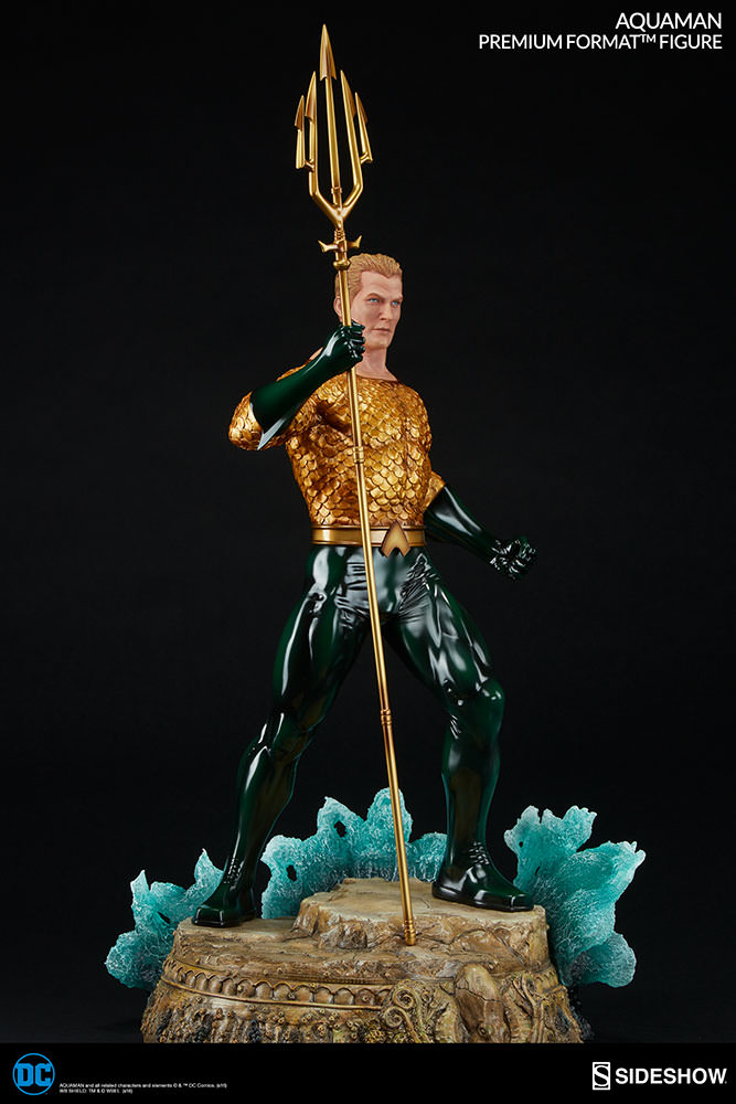 Sideshow Aquaman Premium Format  - Movie Freaks Collectibles