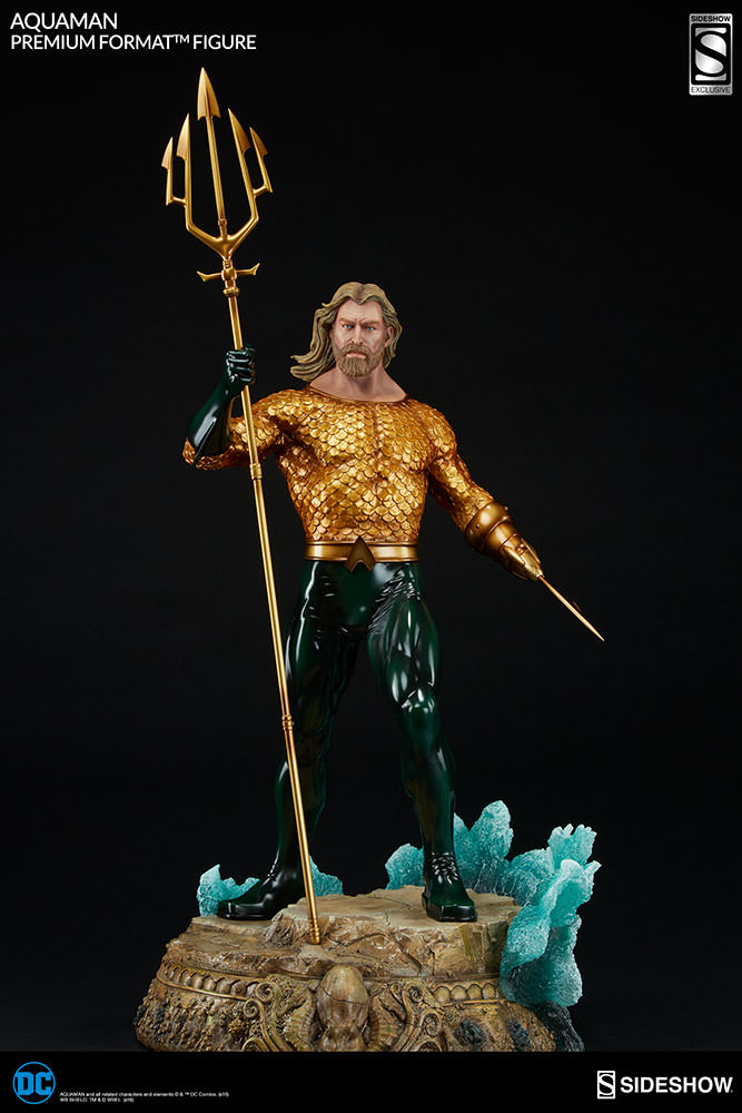 Sideshow Aquaman Premium Format EXclusive  - Movie Freaks Collectibles
