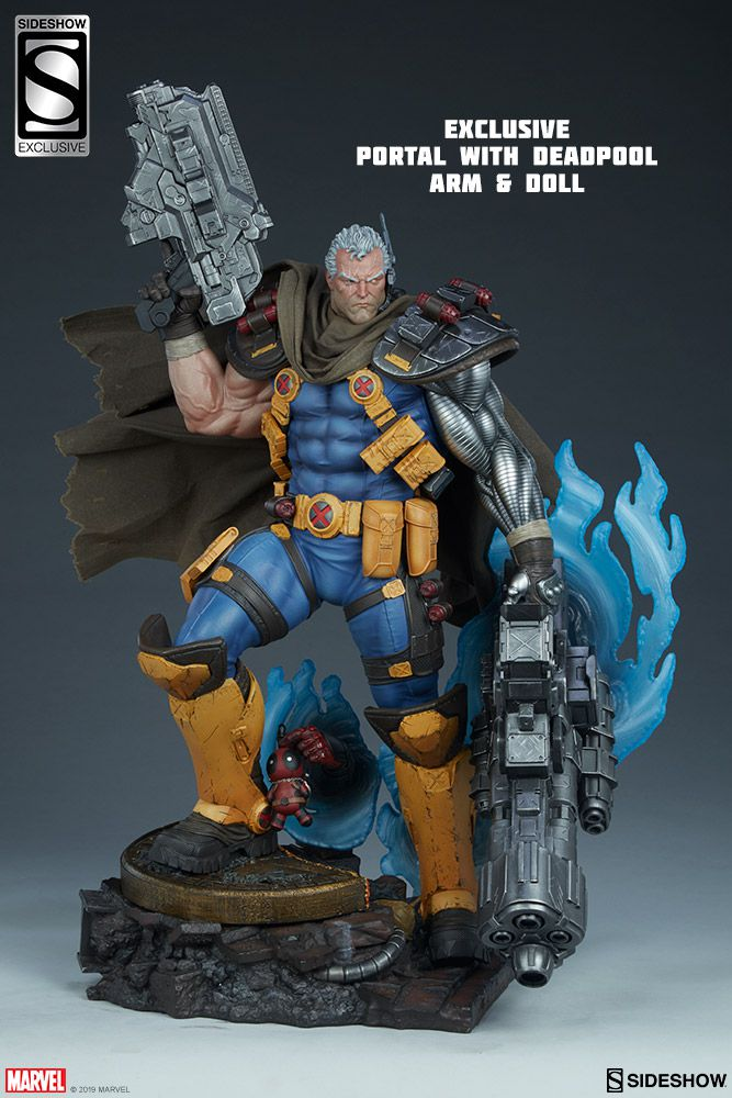 Sideshow Cable Premium Format Exclusive - Movie Freaks Collectibles