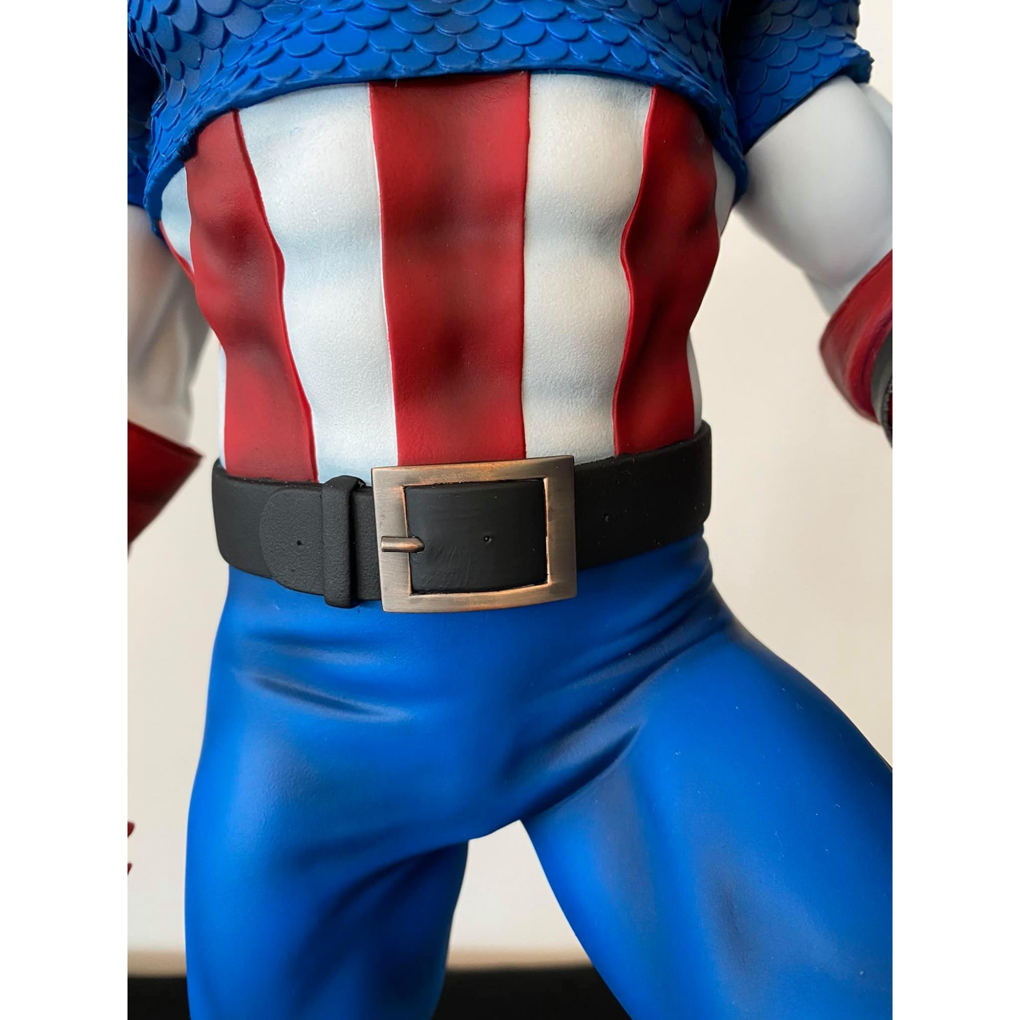 Sideshow Captain America Premium Format modded by Thiago Provin  - Movie Freaks Collectibles