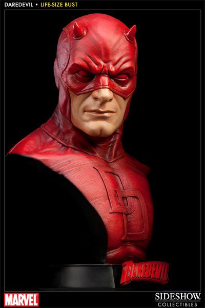Sideshow Collectibles Daredevil / Demolidor Life-size Busto  - Movie Freaks Collectibles