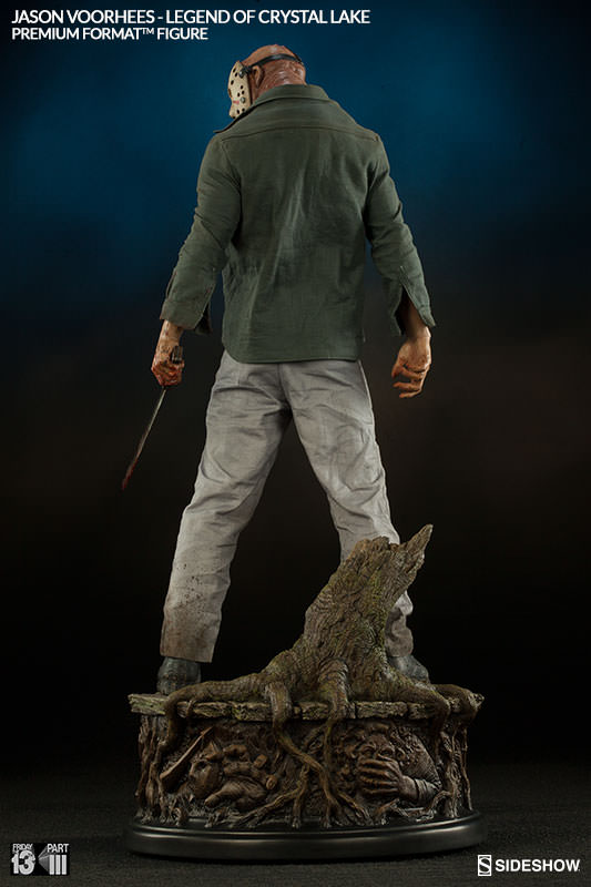 Sideshow Jason Voorhees Premium Format  – Legend of Crystal Lake  - Movie Freaks Collectibles