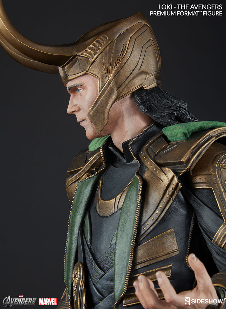 Sideshow LOKI Premium Format   - Movie Freaks Collectibles