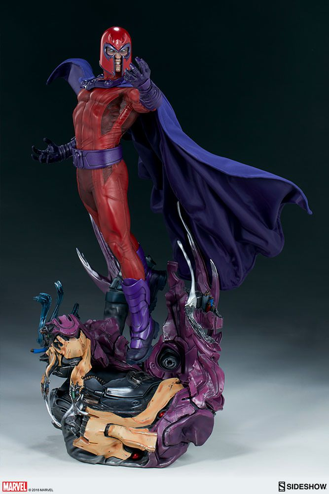 Sideshow Magneto Maquette EXclusive  - Movie Freaks Collectibles
