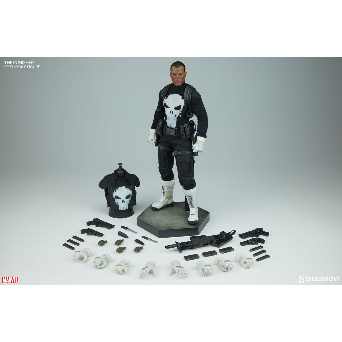 Sideshow Punisher / Justiceiro 1/6 Exclusive  - Movie Freaks Collectibles