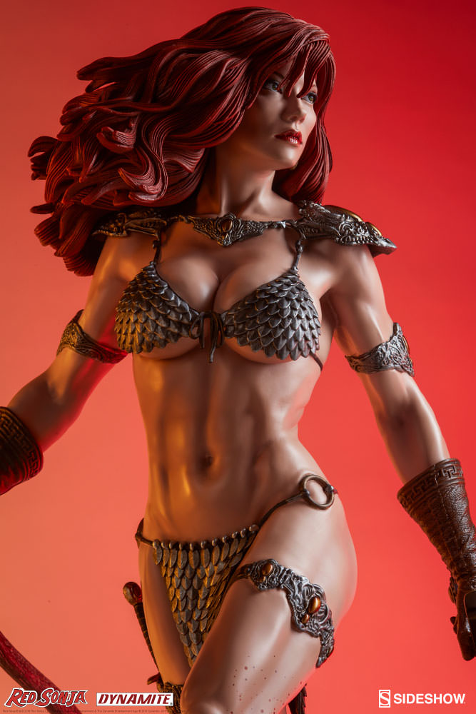 Sideshow Red Sonja She-Devil with a Sword Premium Format Exclusive  - Movie Freaks Collectibles