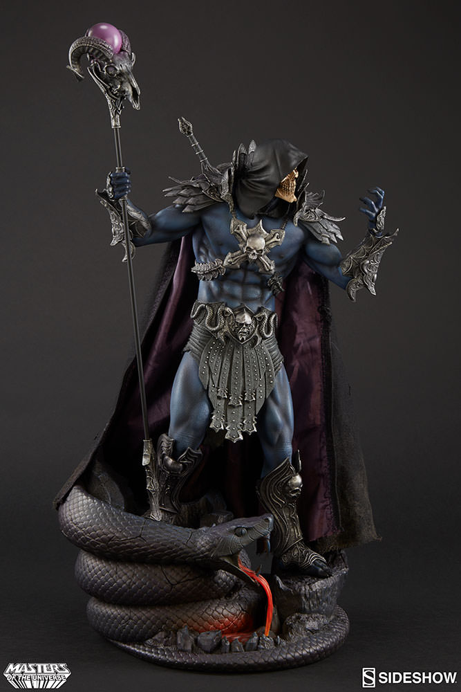 Sideshow Skeletor EXclusive statue  - Movie Freaks Collectibles