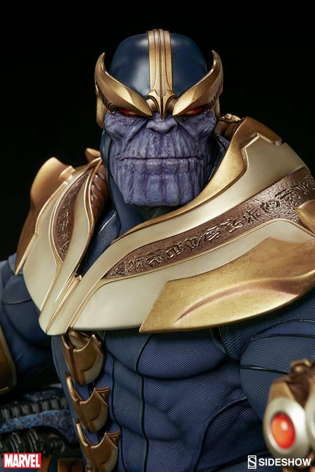 Sideshow Thanos on Throne Maquette EXclusive - Thanos no trono EX  - Movie Freaks Collectibles