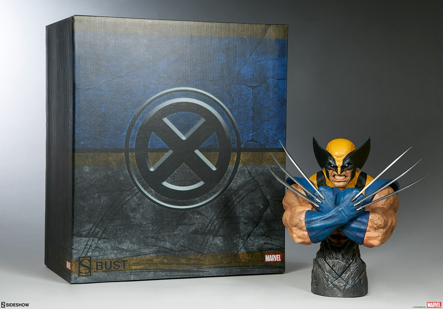 Sideshow Wolverine Bust 1/4 scale  - Movie Freaks Collectibles