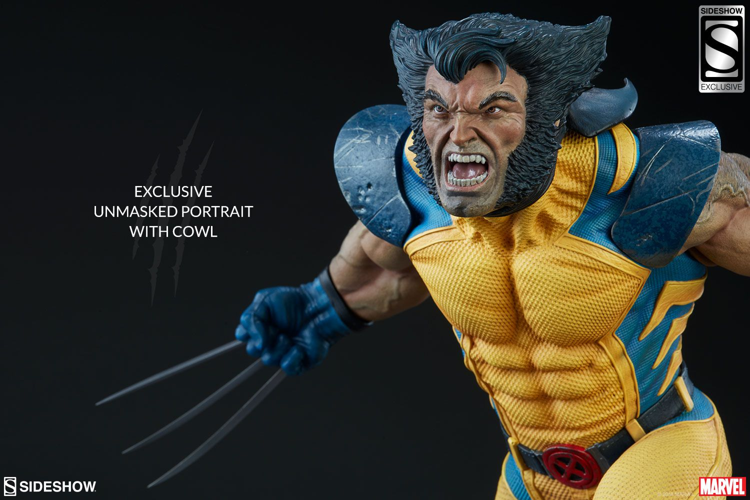 Sideshow Wolverine Premium Format EXclusive  - Movie Freaks Collectibles
