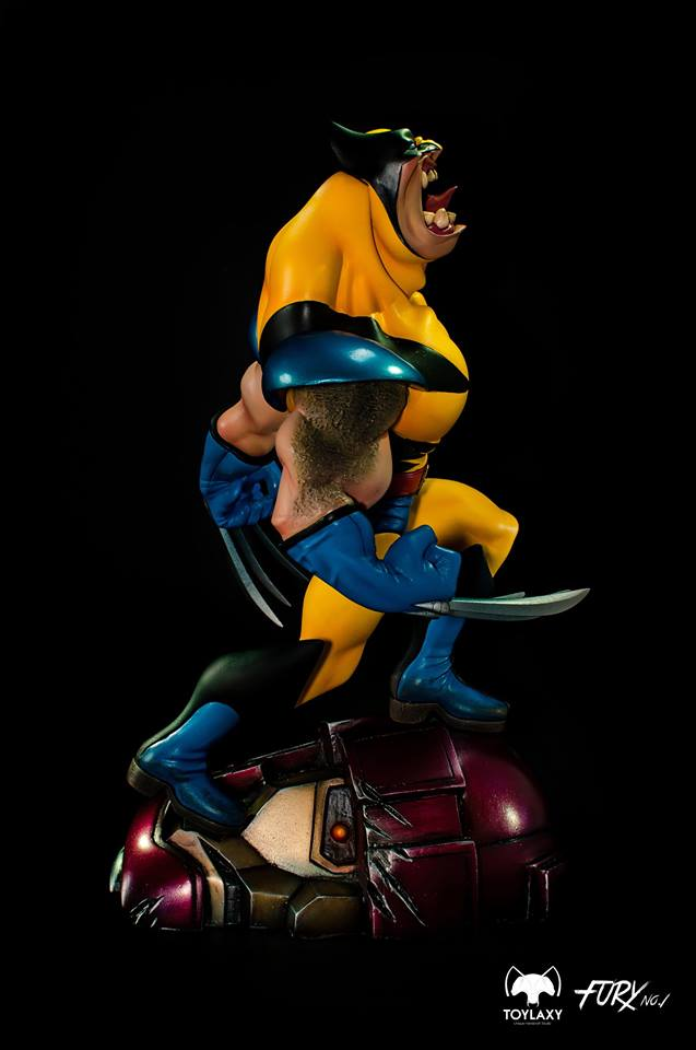 Toylaxy Wolverine Unleash The Beast Fury Series 1 Statue  - Movie Freaks Collectibles