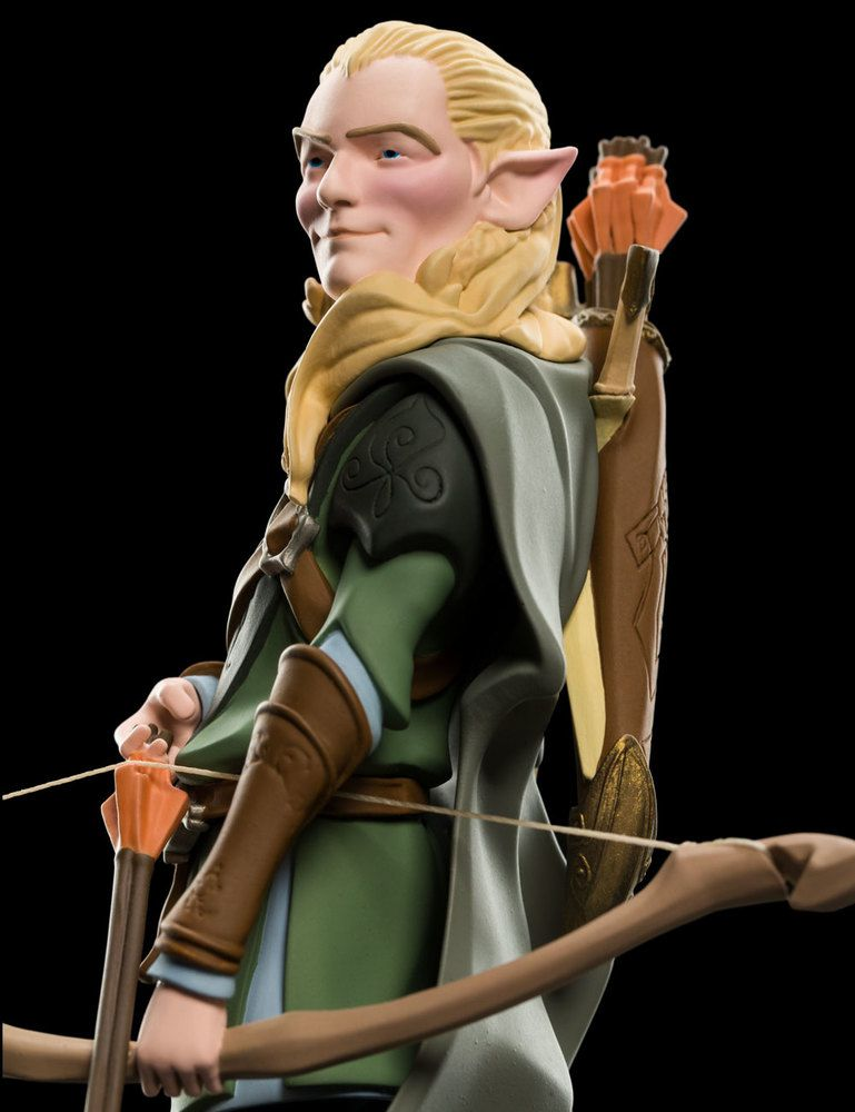 Weta Mini-epics Legolas Vinyl Figure Senhor Dos Anéis Hobbit - Movie Freaks Collectibles