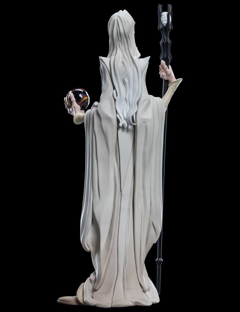 Weta Mini-epics Saruman Vinyl Figure Senhor Dos Anéis  - Movie Freaks Collectibles
