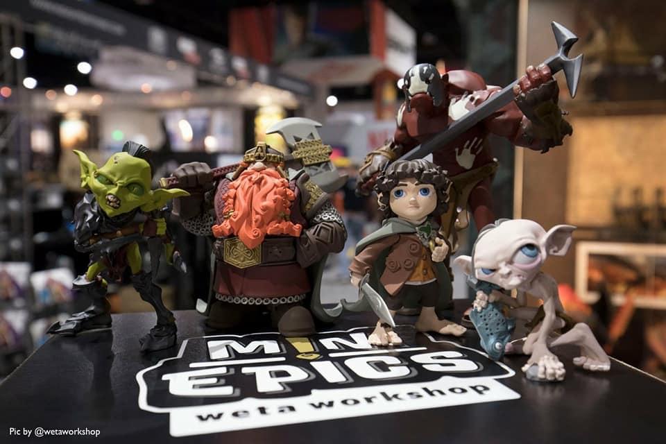 Weta Mini-epics Uruk-Hai Berserker Vinyl Figure Senhor Dos Anéis Hobbit  - Movie Freaks Collectibles