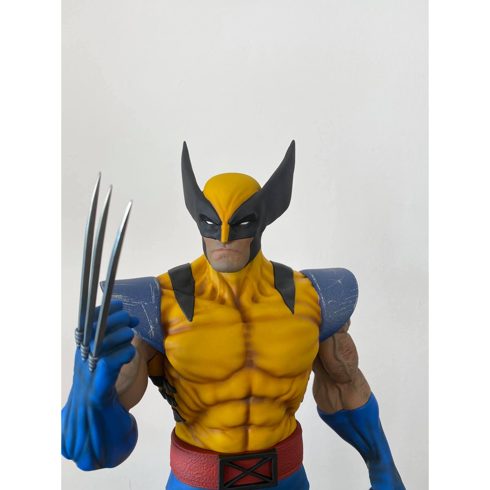 Wolfpax Jim Lee Classic Yellow Wolverine 1/4  - Movie Freaks Collectibles