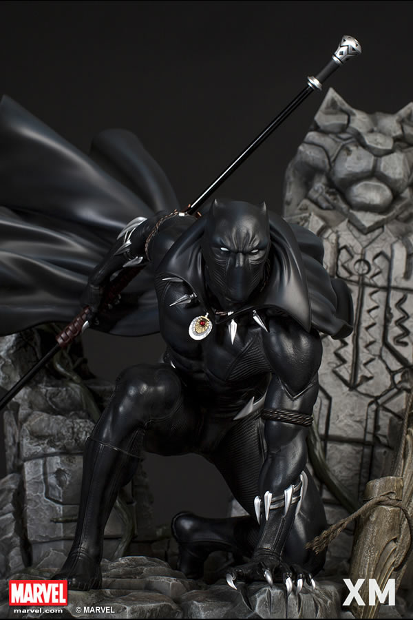 XM Studios Black Panther / Pantera Negra Statue  - Movie Freaks Collectibles