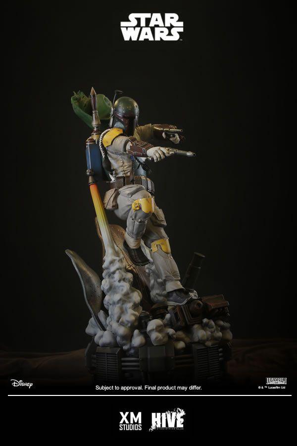 XM Studios Boba Fett Statue  - Movie Freaks Collectibles