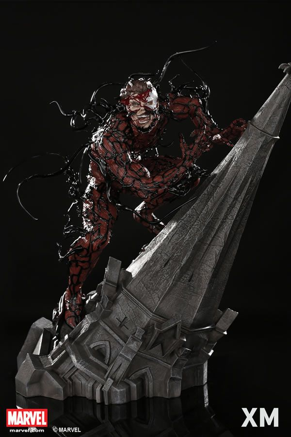 Xm Studios Carnage Statue - Movie Freaks Collectibles