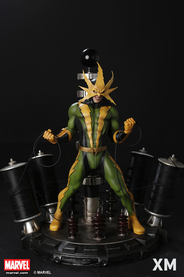 Xm Studios Electro Statue  - Movie Freaks Collectibles