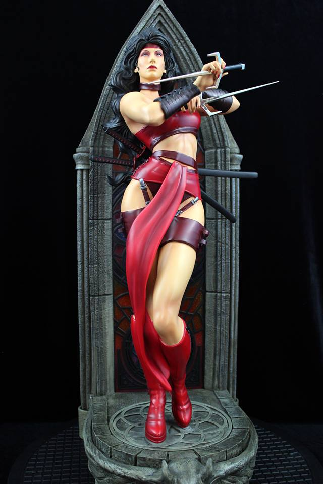 XM Studios Elektra Statue   - Movie Freaks Collectibles