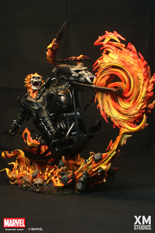 XM Studios Ghost Rider / Motoqueiro Fantasma Statue - XM EXCLUSIVE  - Movie Freaks Collectibles