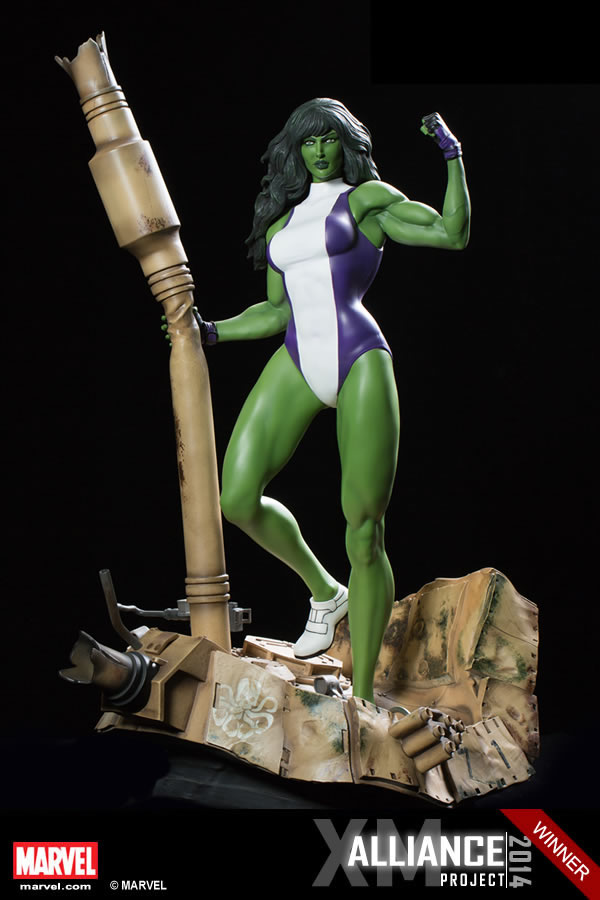 XM Studios Mulher Hulk / She-Hulk Statue   - Movie Freaks Collectibles