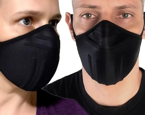 Kit 8 Unid - Máscara Reutilizável Proteção Lavável Anatômica