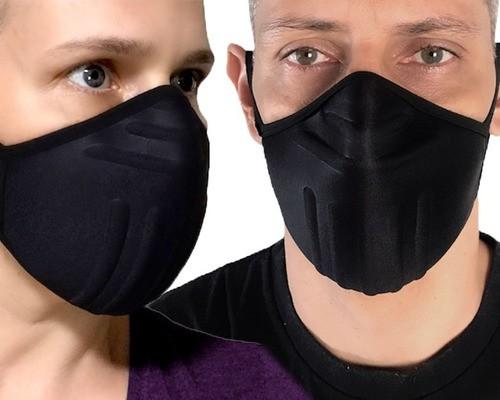 Máscara De Proteção P/ Atividades Físicas Lavável Anatômica