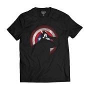 Camiseta Capitão América Super-Herói Escudo EUA