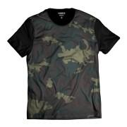 Camiseta Exército Camuflada Verde Personalizada Swag