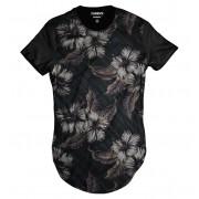 Camiseta Longa Florida Casual Havaiana Swag