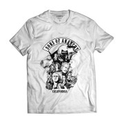 Camiseta Sons Of Anarchy Skull Motociclistas Samcro Califórnia