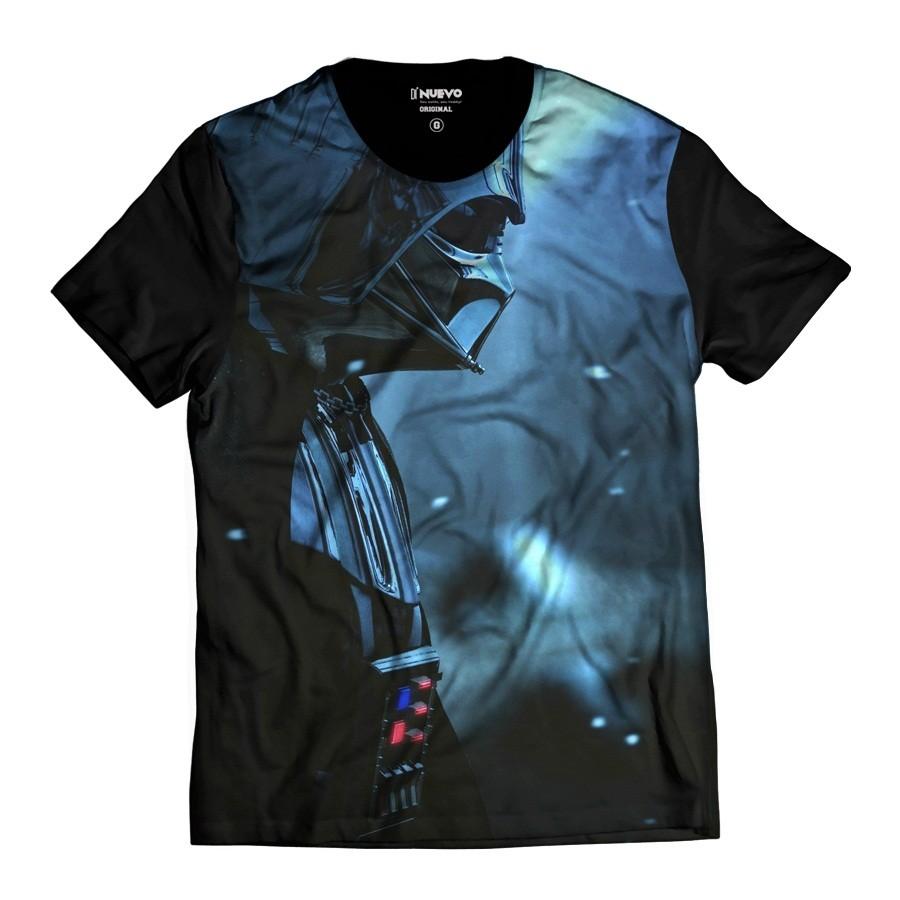 Camiseta Darth Vader Star Wars Armadura Negra