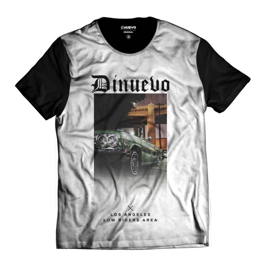 Camiseta Los Angeles Di Nuevo Car Gangsta Driver