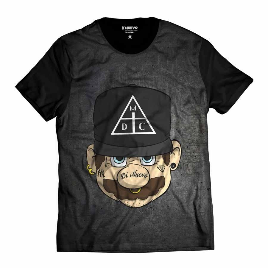 Camiseta Mario Bros Damassaclan DMC