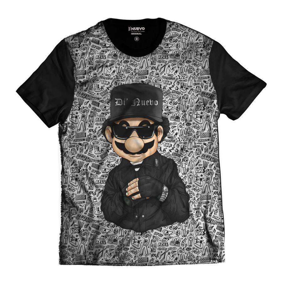 Camiseta Geek Gamer Gangstar Swag Rap Hip Hop