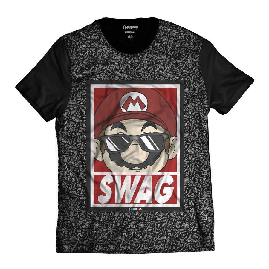 Camiseta Gamer Swag Geek Thug Life