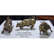 Touro de Wall Street  Bronze  Gigante