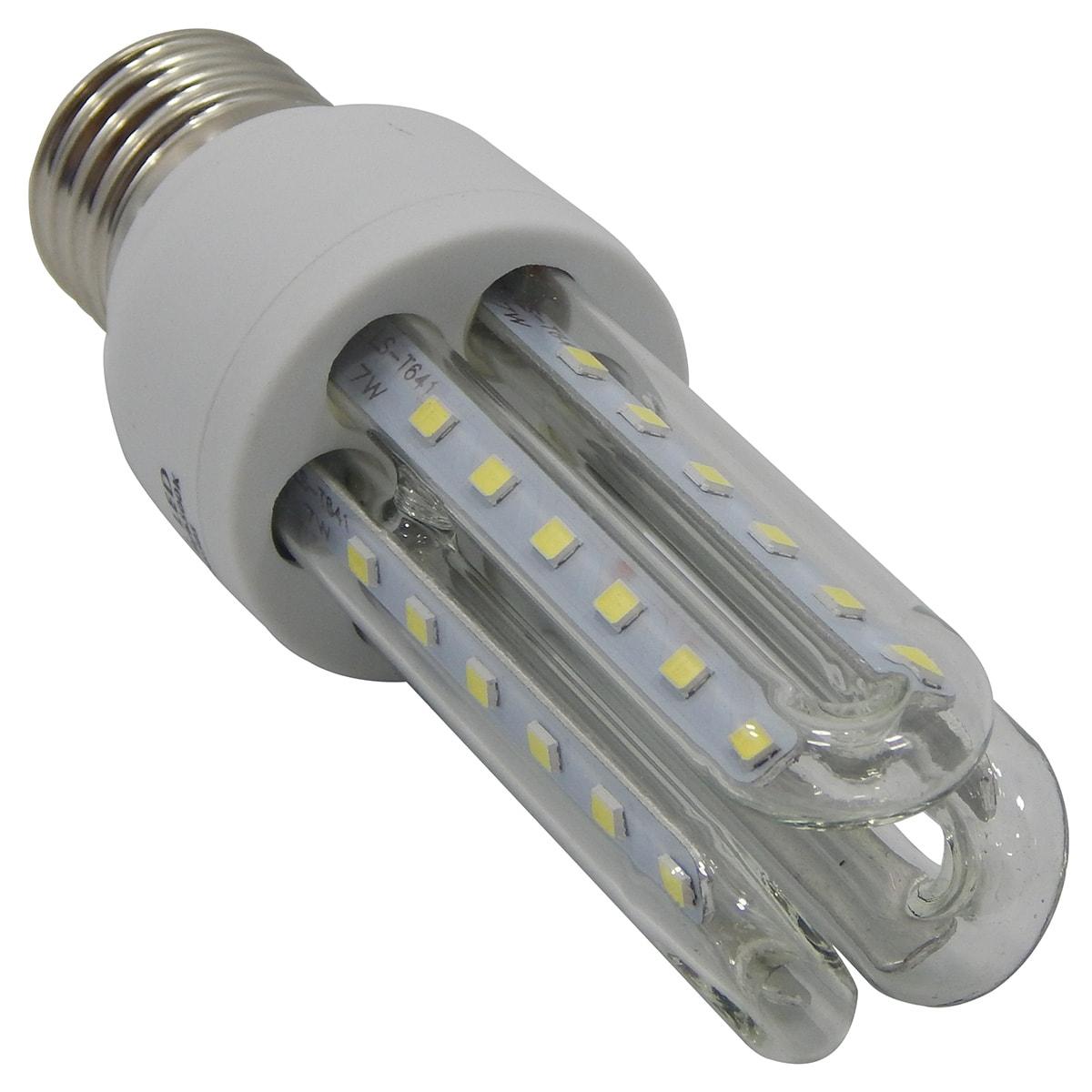 Lampada led 3u 7w e27 6500k exbom l3u m700b apolum for Lampada led